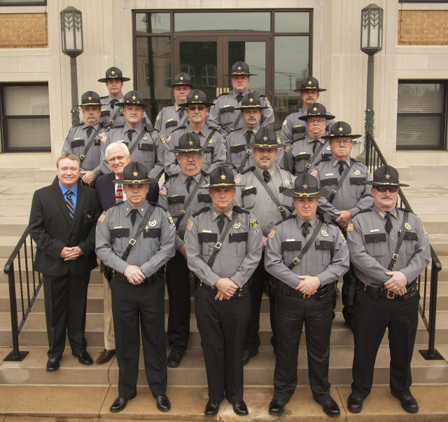 Pope County Sheriff Reserve Deputies January 2015